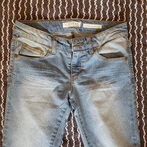 Girls Guess Super Skinny Fit Jean
